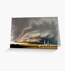 Supercell near Sharon Springs, Kansas Greeting Card