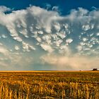 Severe Thunderstorm - Healy, Kansas by Troy Barrett