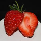 Sweet and Juicy Strawberry by AnnDixon