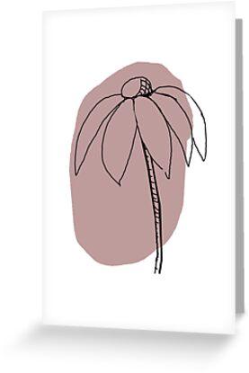 Echinacea by OpenArt