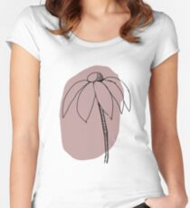 Echinacea Women's Fitted Scoop T-Shirt