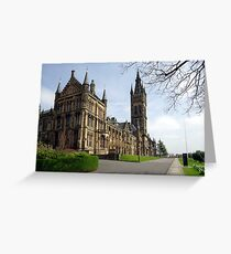 Glasgow University, Glasgow Scotland Greeting Card
