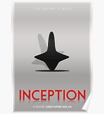 Inception film poster Poster