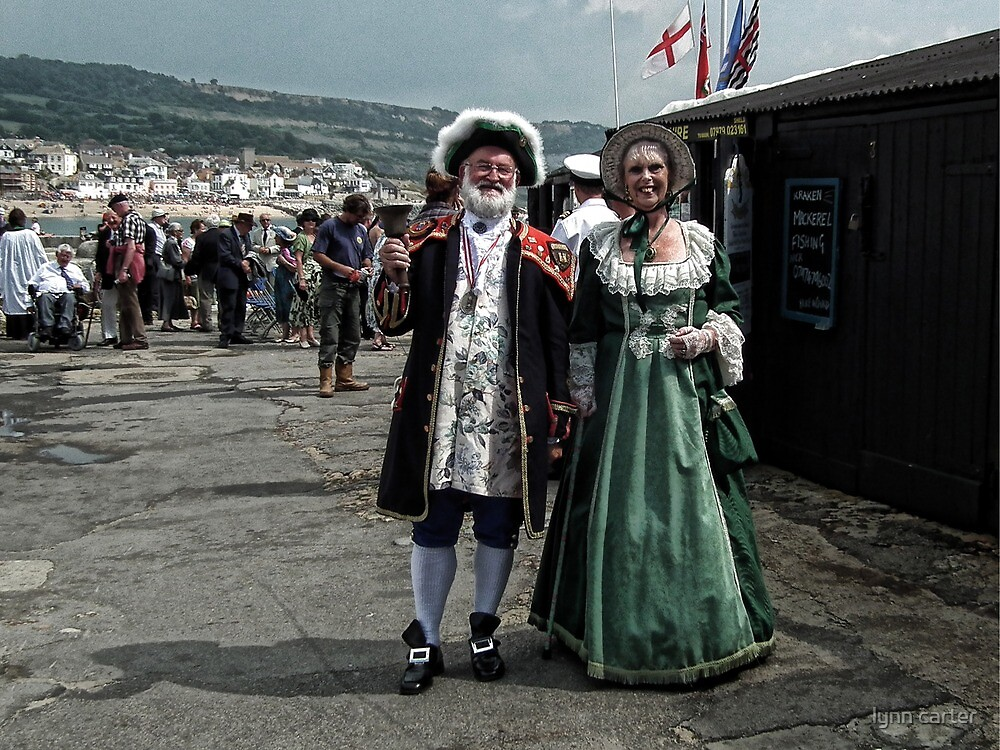 Lyme's Town Crier And His Lady by lynn carter