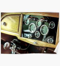 1932 Stutz Bearcat M Speedster, Dashboard Poster