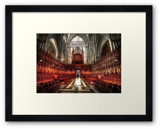 York Minster Glory by Svetlana Sewell