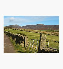 In the mountains of Mourne, Northern Ireland Photographic Print