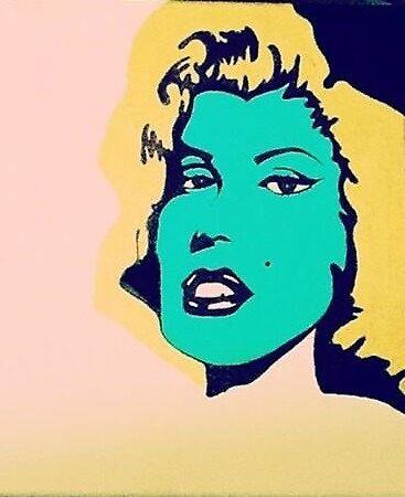 Marilyn Monroe by ktagudar