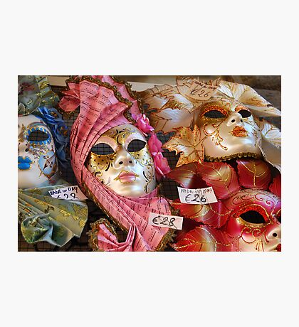 Masquerade Photographic Print