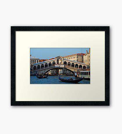 Rialto, Venice Framed Print