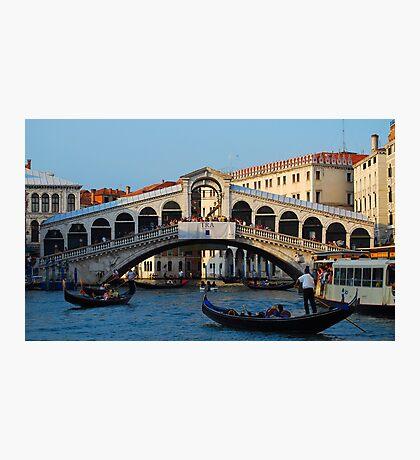 Rialto, Venice Photographic Print