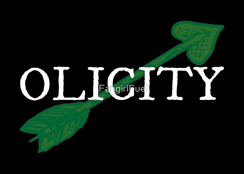 Olicity - Green Heart Arrow by FangirlFuel