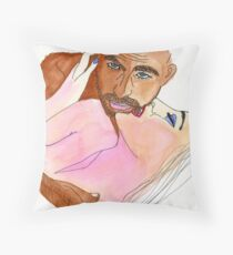 The Thief of Time Throw Pillow