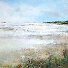budle bay, northumberland, england by christine vandenhaute