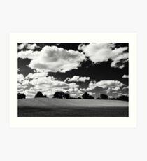 Dorset landscape Art Print