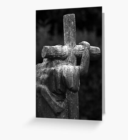 The Cross We Bare Greeting Card