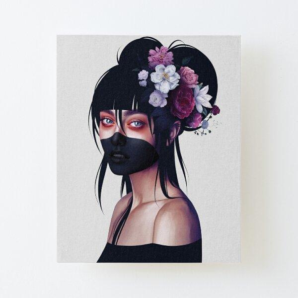 Nyx Canvas Mounted Print