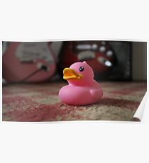 The Pink Duck Poster