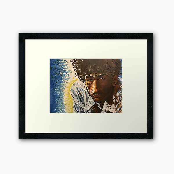The Singer Framed Art Print