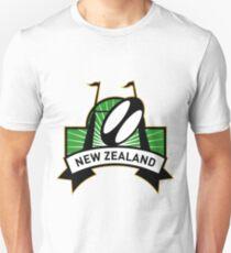 rugby ball goal post new zealand Unisex T-Shirt