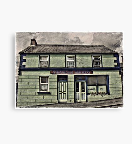 Brady's Bar Canvas Print