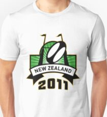 rugby ball goal post new zealand Unisex T-Shirt