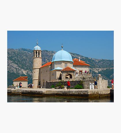 Our Lady of the Rock, Perast, Montenegro Photographic Print