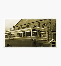 Old Bus Photographic Print