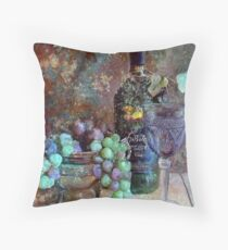 Gifts from the Vineyard Throw Pillow