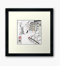 Keep An Eye Out Framed Print