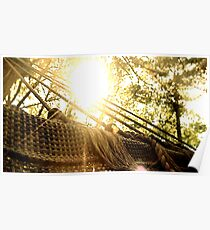A View from a Hammock Poster