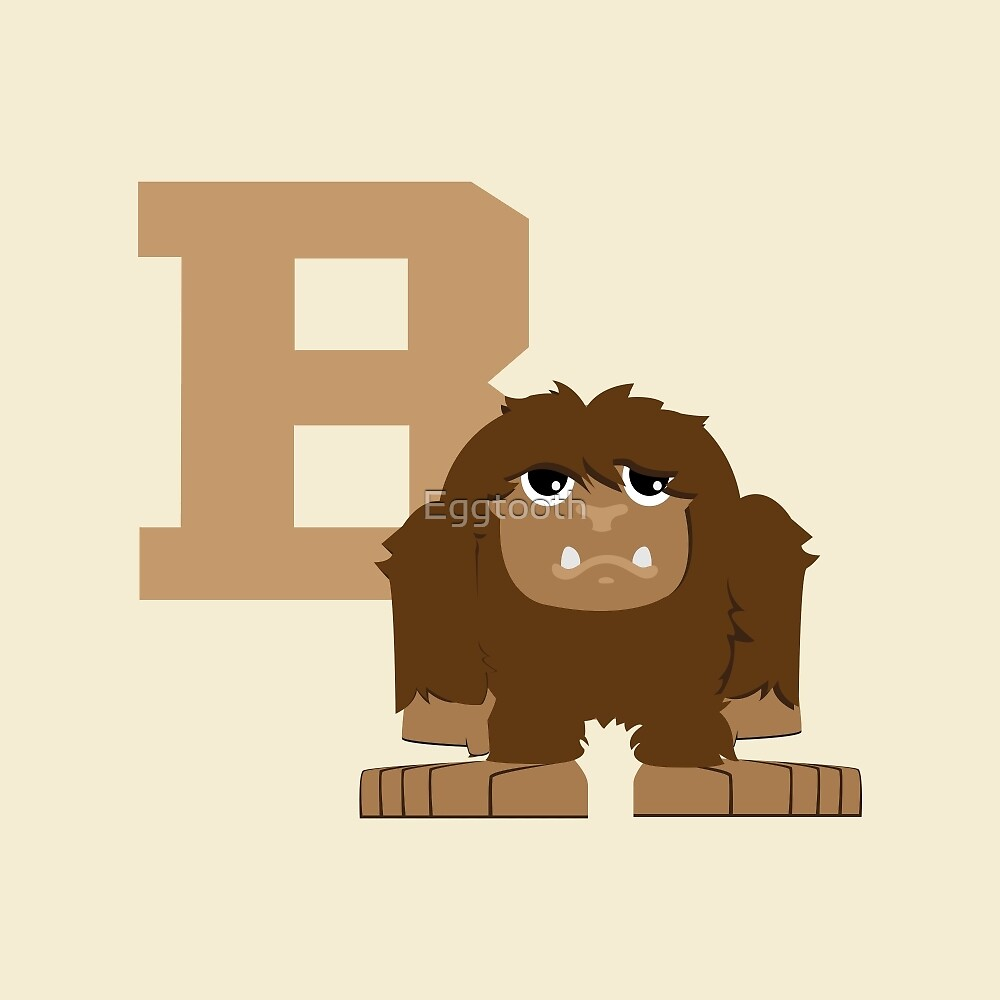 B is for bigfoot by Eggtooth