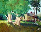 Carolina Landscape by Jim Phillips