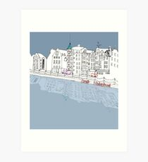 Leith Waterfront Art Print