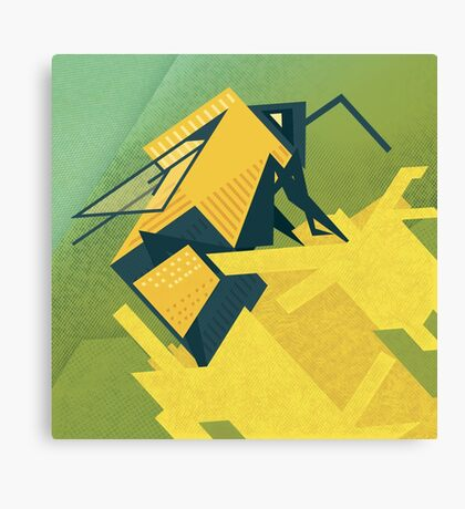 The Rhombus Bombus Canvas Print