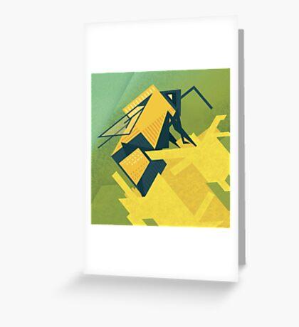 The Rhombus Bombus Greeting Card