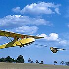 Student Pilot, Gliding, Berwick, Victoria. by johnrf