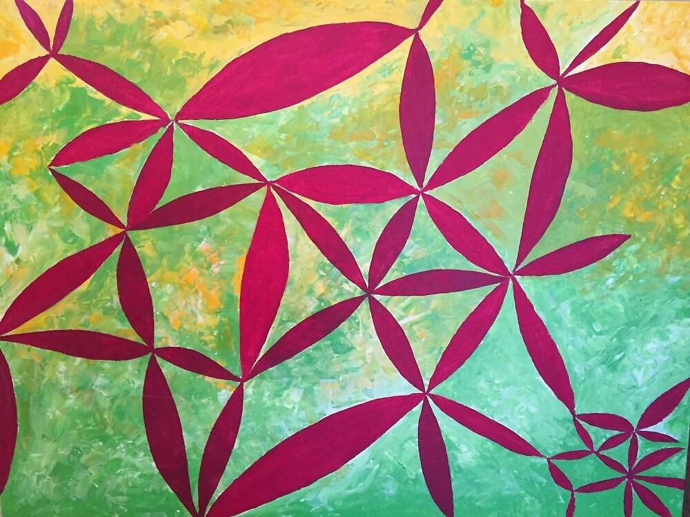 Red Leaves by Amogh Katyayan