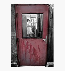 The door to the town Photographic Print