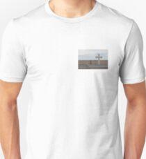 White Cross, Blue Sky Unisex T-Shirt