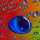 Blue bubble. by Baska