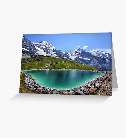 Alpen Emerald Greeting Card