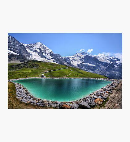 Alpen Emerald Photographic Print