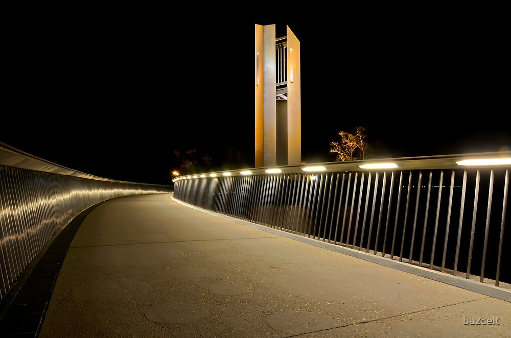 Path to Carillon, Canberra by bazcelt