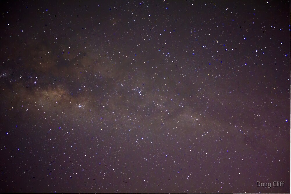 Milky way from the back yard by Doug Cliff