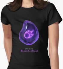 Soul of the Black Mage -black Women's Fitted T-Shirt
