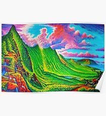 Pali Lookout Poster