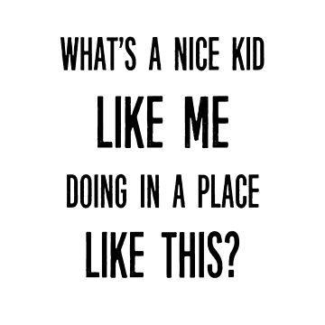 Nice Kid by zeevloga