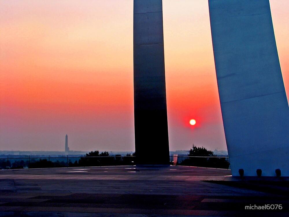Air Force Memorial Sunrise by michael6076