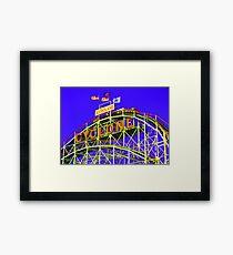 The Cyclone - Coney Island Framed Print